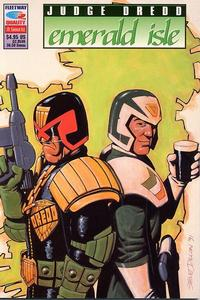 Cover Thumbnail for Judge Dredd: Emerald Isle (Fleetway/Quality, 1991 series)