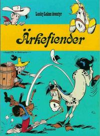 Cover Thumbnail for Lucky Lukes äventyr / Lucky Luke klassiker (Bonniers, 1979 series) #31 - Ärkefiender