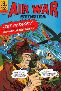 Cover Thumbnail for Air War Stories (Dell, 1964 series) #8