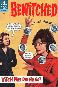 Cover Thumbnail for Bewitched (Dell, 1965 series) #5