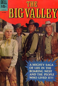 Cover Thumbnail for The Big Valley (Dell, 1966 series) #6