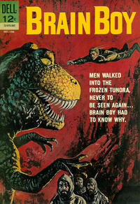 Cover Thumbnail for Brain Boy (Dell, 1962 series) #3