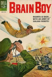 Cover Thumbnail for Brain Boy (Dell, 1962 series) #5
