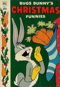 Cover Thumbnail for Bugs Bunny's Christmas Funnies (Dell, 1950 series) #3