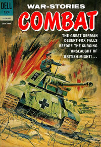 Cover Thumbnail for Combat (Dell, 1961 series) #5