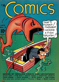 Cover Thumbnail for The Comics (Dell, 1937 series) #4