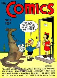 Cover Thumbnail for The Comics (Dell, 1937 series) #11