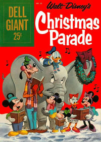 Cover Thumbnail for Dell Giant (Dell, 1959 series) #26 - Walt Disney's Christmas Parade