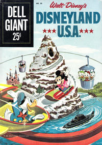 Cover Thumbnail for Dell Giant (Dell, 1959 series) #30 - Disneyland U.S.A.