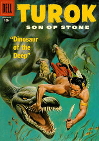 Cover Thumbnail for Turok, Son of Stone (Dell, 1956 series) #8