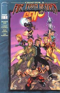 Cover for Gen 13 (Image, 1995 series) #11 [European Tour Edition]