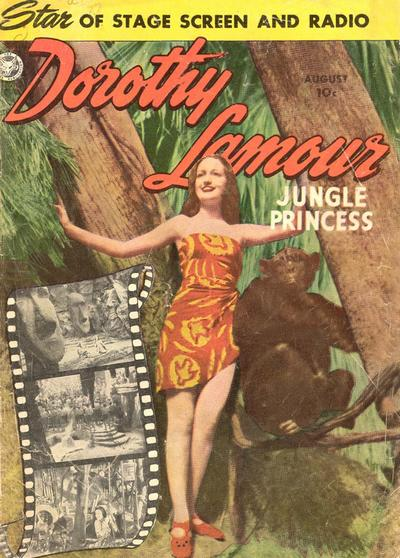 Cover for Dorothy Lamour (Fox, 1950 series) #3