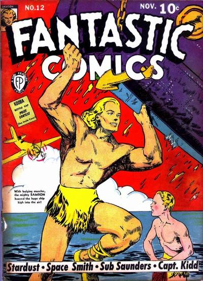 Cover for Fantastic Comics (Fox, 1939 series) #12