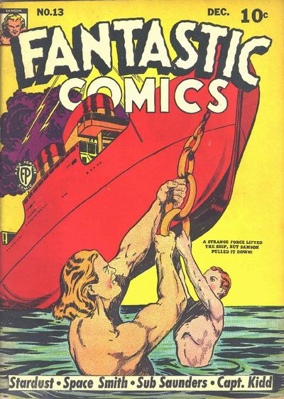 Cover for Fantastic Comics (Fox, 1939 series) #13