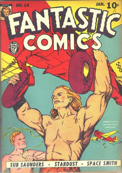 Cover for Fantastic Comics (Fox, 1939 series) #14