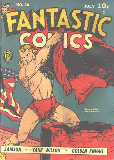 Cover for Fantastic Comics (Fox, 1939 series) #20