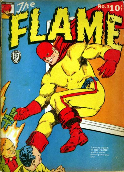 Cover for The Flame (Fox, 1940 series) #3
