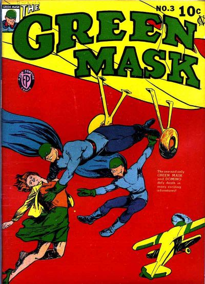 Cover for The Green Mask (Fox, 1940 series) #3