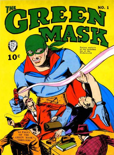 Cover for The Green Mask (Fox, 1940 series) #1