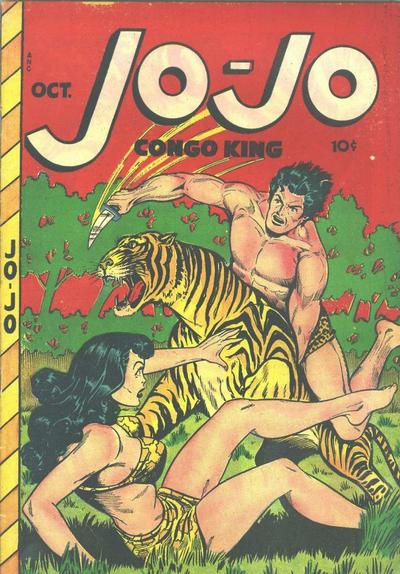 Cover for Jo-Jo Comics (Fox, 1946 series) #20