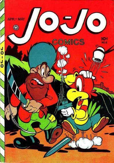 Cover for Jo-Jo Comics (Fox, 1946 series) #6