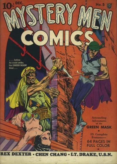 Cover for Mystery Men Comics (Fox, 1939 series) #5