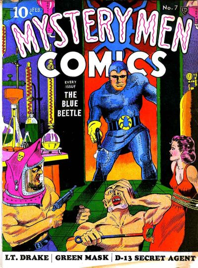 Cover for Mystery Men Comics (Fox, 1939 series) #7