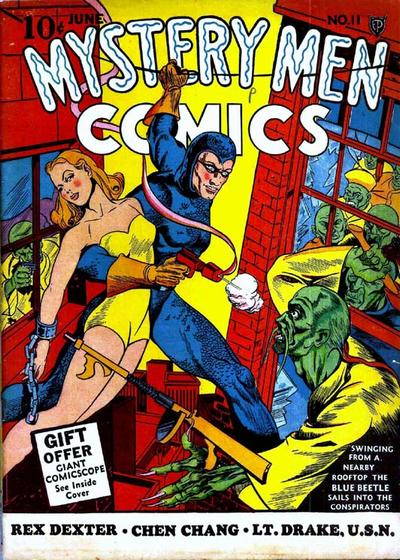 Cover for Mystery Men Comics (Fox, 1939 series) #11
