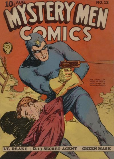 Cover for Mystery Men Comics (Fox, 1939 series) #13