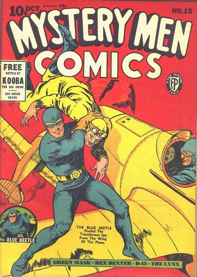 Cover for Mystery Men Comics (Fox, 1939 series) #15