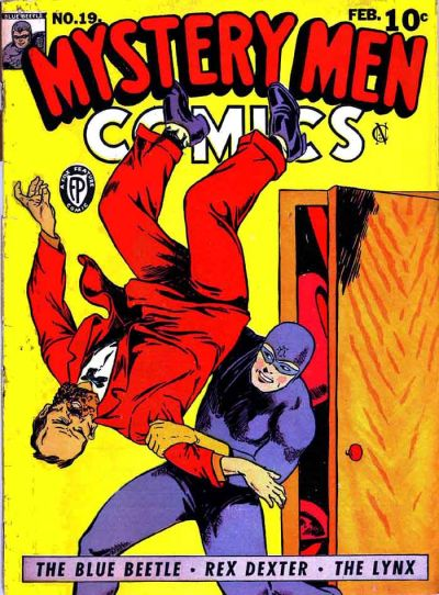 Cover for Mystery Men Comics (Fox, 1939 series) #19