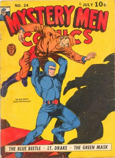 Cover for Mystery Men Comics (Fox, 1939 series) #24