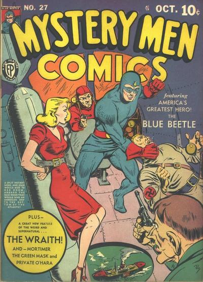 Cover for Mystery Men Comics (Fox, 1939 series) #27