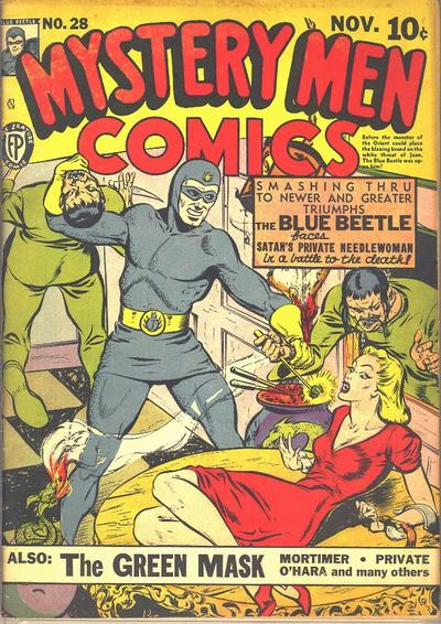 Cover for Mystery Men Comics (Fox, 1939 series) #28