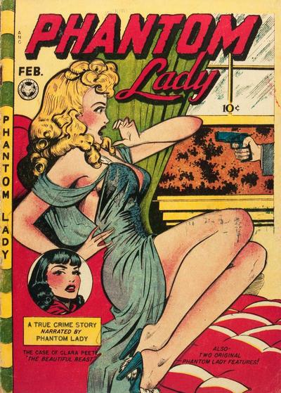 Cover for Phantom Lady (Fox, 1947 series) #16