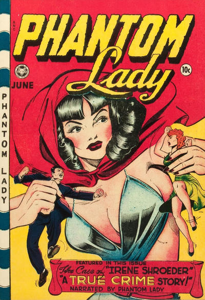 Cover for Phantom Lady (Fox, 1947 series) #18