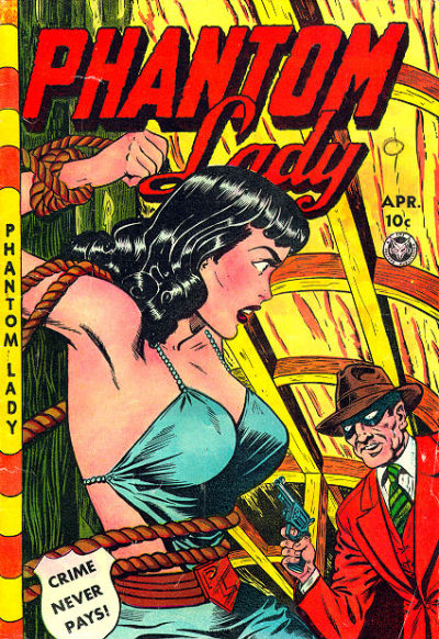 Cover for Phantom Lady (Fox, 1947 series) #23