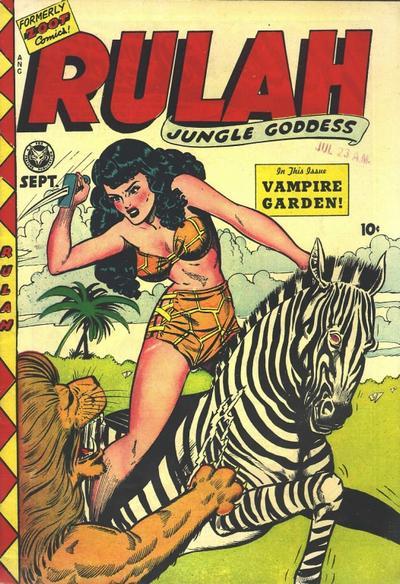 Cover for Rulah (Fox, 1948 series) #18