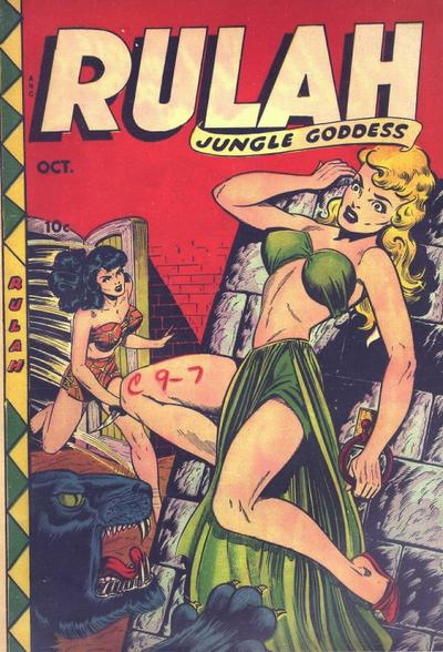 Cover for Rulah (Fox, 1948 series) #19