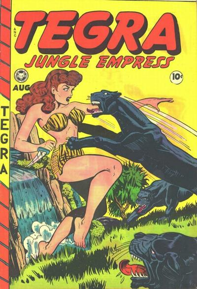 Cover for Tegra (Fox, 1948 series) #1