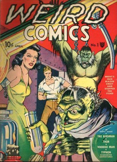 Cover for Weird Comics (Fox, 1940 series) #1