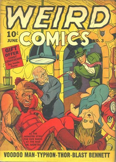 Cover for Weird Comics (Fox, 1940 series) #3