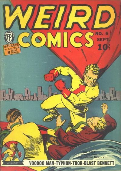 Cover for Weird Comics (Fox, 1940 series) #6