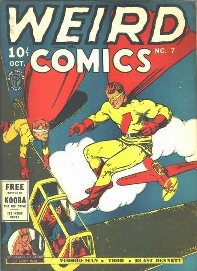 Cover for Weird Comics (Fox, 1940 series) #7
