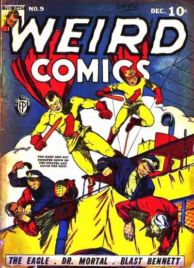 Cover for Weird Comics (Fox, 1940 series) #9