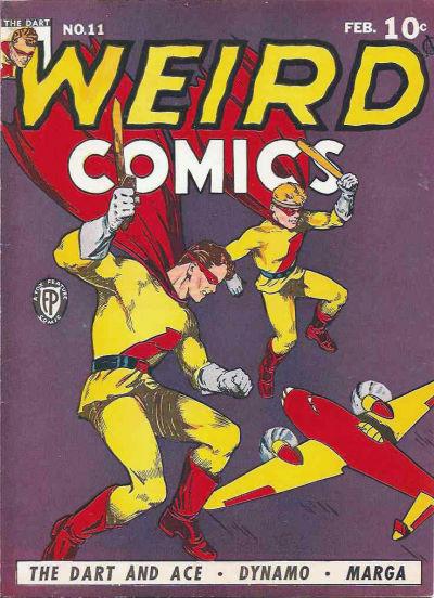 Cover for Weird Comics (Fox, 1940 series) #11