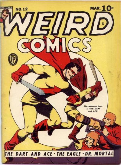 Cover for Weird Comics (Fox, 1940 series) #12