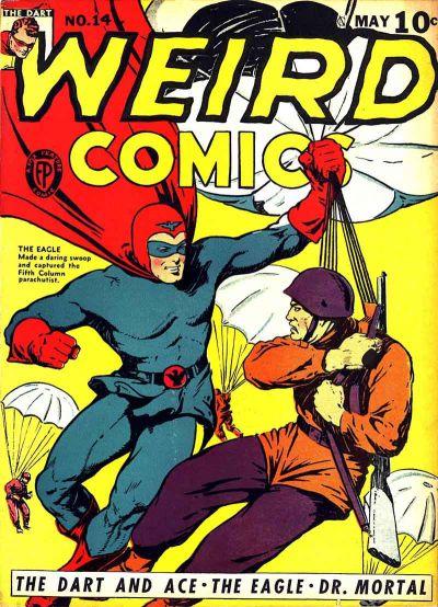 Cover for Weird Comics (Fox, 1940 series) #14