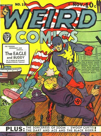 Cover for Weird Comics (Fox, 1940 series) #19