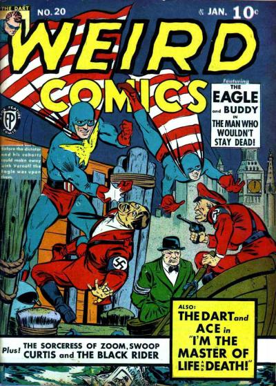 Cover for Weird Comics (Fox, 1940 series) #20